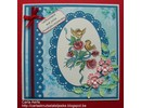 Nellie snellen Punching and embossing template Nellie`s Multi frame, oval