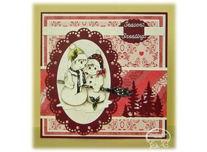 Nellie snellen Punching and embossing template Nellie`s multiframe, ovals