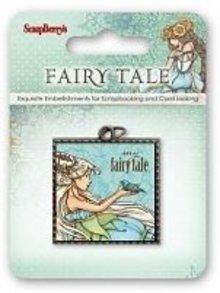Embellishments / Verzierungen Metal Charm Fairy Tale