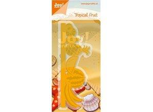 Joy!Crafts und JM Creation Punzonado y cliché de estampado frontera con frutas