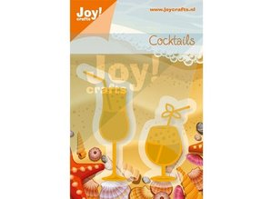 Joy!Crafts und JM Creation Punching and embossing template, glasses
