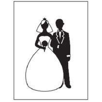 Goffratura cartelle, tema: Wedding