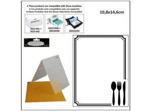 embossing Präge Folder Cartelle goffratura, tema: Occasione