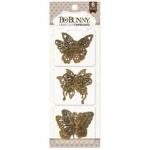Bo Bunny laser cut chipboard, butterflies
