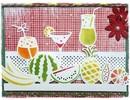 Joy!Crafts und JM Creation Punzonatura e goffratura stencil confine con la frutta