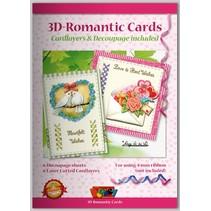 Bastelbuch für Gestaltung von 6 romantische Karten