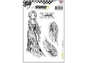 Stempel / Stamp: Transparent Rubber stamps, an angel to love