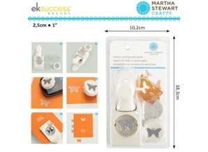 EK Succes, Martha Stewart Martha Stewart, stamps and punches: Butterfly