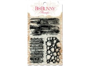 Bo Bunny sellos transparentes, 10x15,3cm