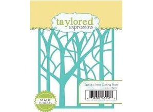 Taylored Expressions Skæreskabelon Die, taylored Expressions, træer baggrund