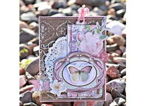 Bo Bunny Stickers, Chipboard Primrose Labels