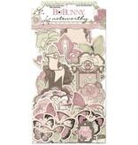 Bo Bunny Notables Primrose, 45 piezas
