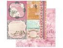 Designer Papier Scrapbooking: 30,5 x 30,5 cm Papier 1 dobbeltsidet trykt designer papir, 180 gr
