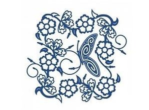 Tattered Lace Stamping and punching template, Tattered Lac, Tudor Rose Tapestry