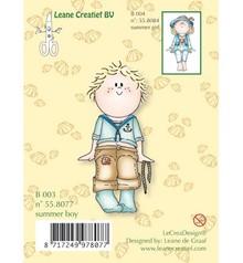 Leane Creatief - Lea'bilities Transparent Stempel, Bambini Jungen