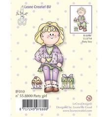Leane Creatief - Lea'bilities Timbri trasparenti, Party girl