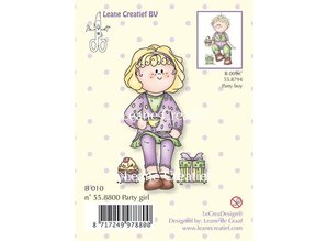 Leane Creatief - Lea'bilities Clear stamps, Party girl