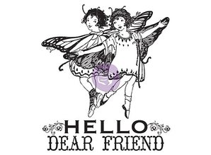 Prima Marketing und Petaloo Clear stamps, Princess
