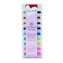 FARBE / INK / CHALKS ... 20 mini rilievo di inchiostro