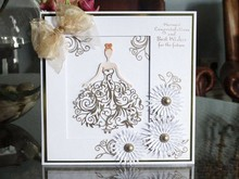 Tattered Lace Stamping and punching template, Tattered Lace, Bella