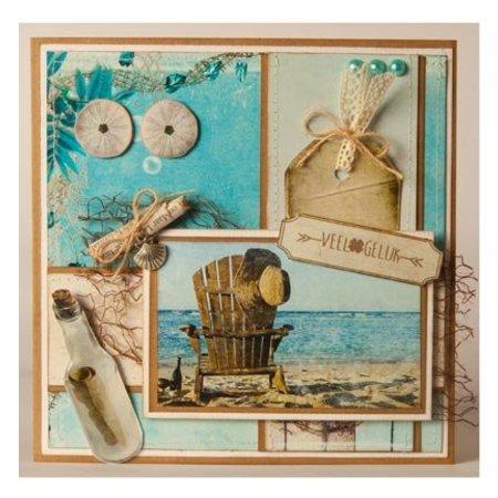 Studio Light A4 Gestantzte 3D ark - Summer på stranden
