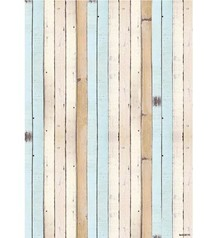Studio Light A4 Baggrund ark - Summer på Beach