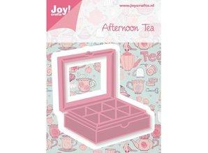Joy!Crafts und JM Creation Stansning og prægning skabelon, te box
