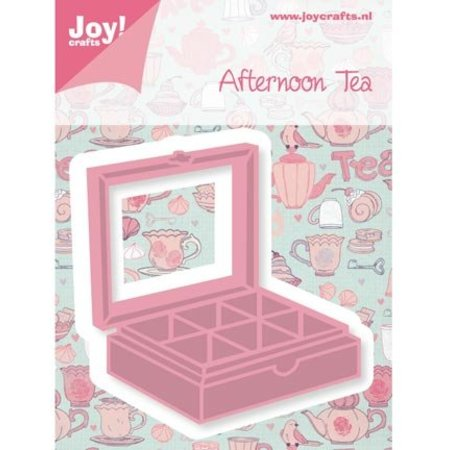 Joy!Crafts und JM Creation Stanz- und Prägeschablone, Teebox