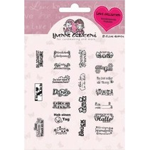 Transparent Stempel, Yvonne Creations, Love Collection