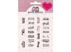 Yvonne Creations Clear stamps, Yvonne Creations, Love Collection
