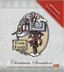 Yvonne Creations Stamp, Yvonne creazioni, casella postale di Natale