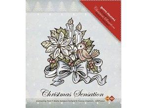 Yvonne Creations Klare Frimærker, Yvonne Creations, blomster og stearinlys