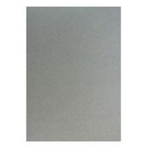 20 hojas, cartón metalizado Set A5, plata metálica