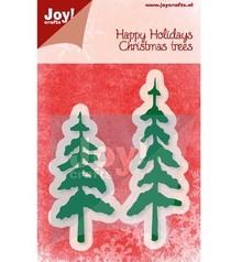 Joy!Crafts und JM Creation Punzonatura e modello di goffratura, alberi