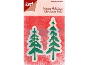 Joy!Crafts und JM Creation Punching and embossing template, trees