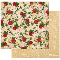 Designer papir, 30,5 x 30,5 cm, Bo Bunny Juliet