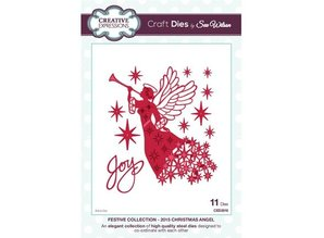 Creative Expressions Stamping and embossing stencil, The Festive Collection, Christmas Angel