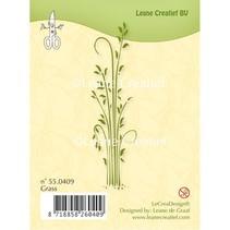 Klare Frimærker, græsstrå