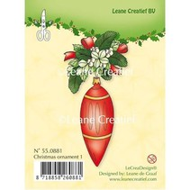 Transparente Stempel, Christmas ornament 1
