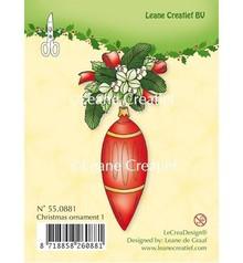 Leane Creatief - Lea'bilities Timbri trasparenti, ornamento di Natale 1