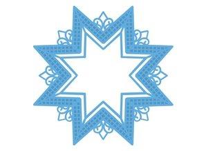 Marianne Design Stansning og prægning skabelon Creatables - Star XL