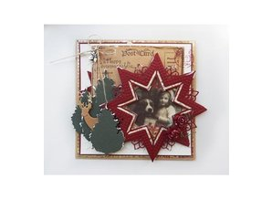 Marianne Design Punching and embossing template Creatables - Star XL