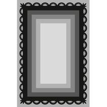 Stansning og prægning skabelon Craftables, 6 frame rektangler