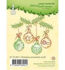 Leane Creatief - Lea'bilities Timbri trasparenti, palle di Natale