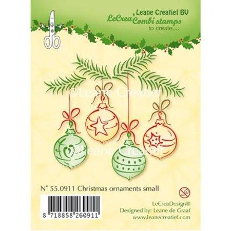 Leane Creatief - Lea'bilities Clear Stamps, julekugler