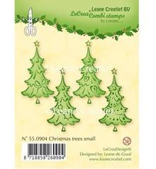 Leane Creatief - Lea'bilities I timbri trasparenti, alberi di Natale