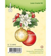 Leane Creatief - Lea'bilities Transparente Stempel, Christmas ornament 2