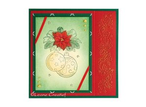 Leane Creatief - Lea'bilities Clear Stamps, Christmas ornament 2