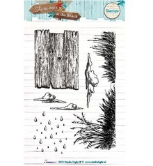 Studio Light Clear Stamps, summer at the beach