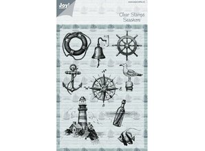 Joy!Crafts und JM Creation Transparent stamp on and at sea